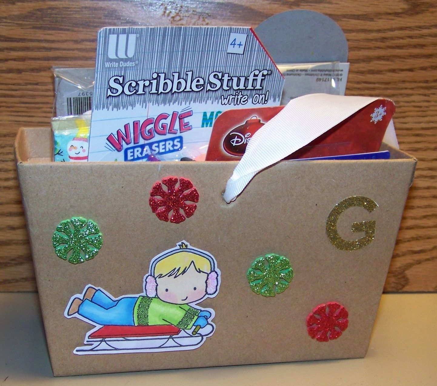Christmas 2015-Container from Target and stamp is from Darcie's and colored with Copics | I card. Stamp. Cards