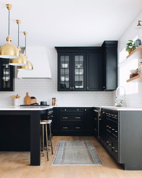 Design inspo: Beautiful black kitchens – STYLE CURATOR