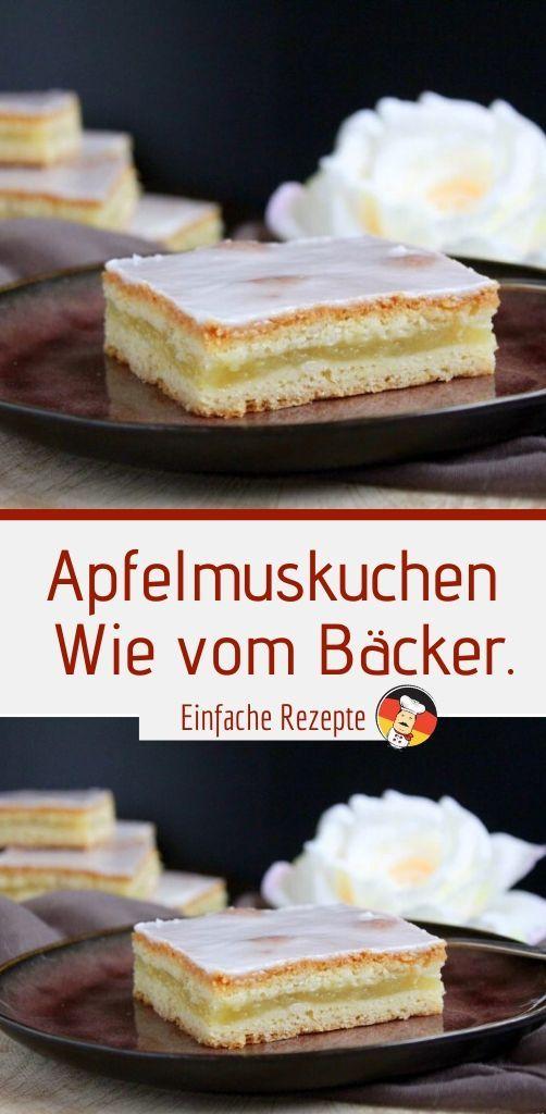 Photo of Apple sauce cake Like from a baker. | Sprainnews