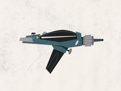 Ray-gun by Rogie on dribbble