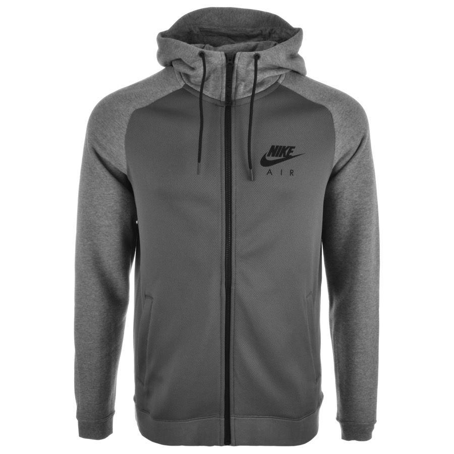 Nike Air Zip Hoodie Grey  9b2e05ba3