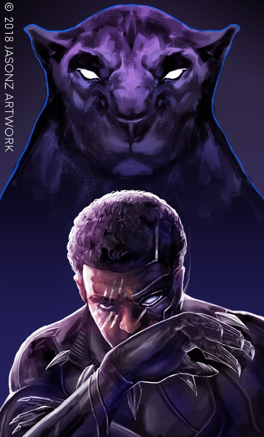 Black Panther, T'Challa | MARVEL | Black panther marvel, Panther, Black panther