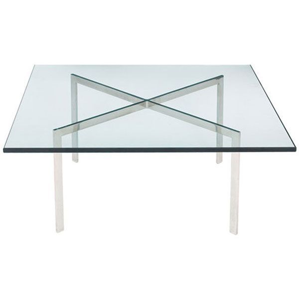 Barcelona Coffee Table | Mies Van Der Rohe | Reproduction | The Barcelona  Coffee Table Was Designed In 1930 By The Famed Visionary, Mies Van Der Rohe.