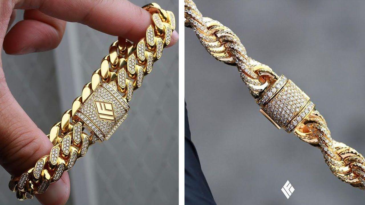 Gold Kappu Designs For Mens Gold Kada For Mens Kalyan Jewellers Gold Earrings For Mens Online Mens Go Mens Gold Bracelets Gold Chains For Men Bracelets For Men