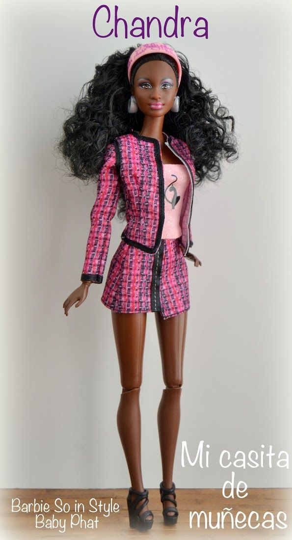 1e4ed2031ee84 Barbie So in Style Baby Phat. Marisa, Chandra, Kara, Grace | Fashion ...
