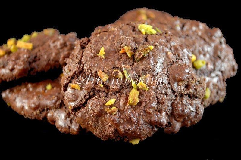 Biscotti al cioccolato senza burro e farina velocissimi   Arte in Cucina