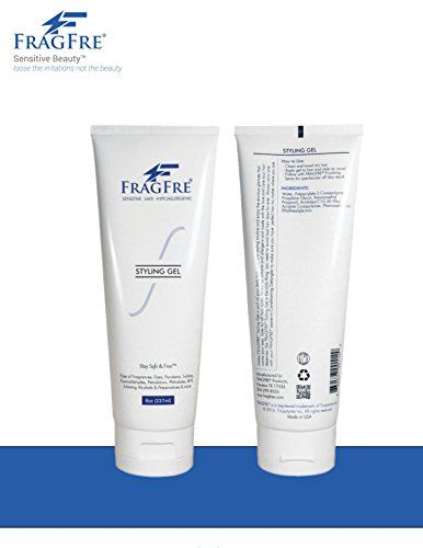 Fragfre Styling Gel Fragrance Free Hypoallergenic Sulfate Free Parabens Free Hair Styling Gel For Sensitive Skin Fragrance Free Products Styling Gel Hair Gel