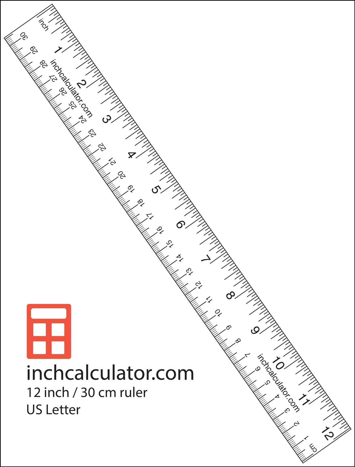 Printable Blank Ruler Worksheets
