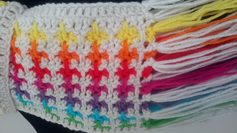 Donna's Mistake Blanket / Scarf Crochet Tutorial