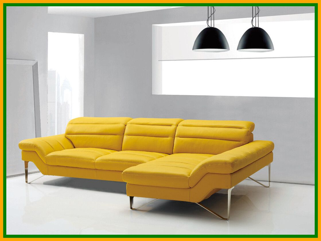 115 Reference Of Contemporary Sofa Chair In 2020 Leather Sectional Sofa Yellow Furniture Furniture