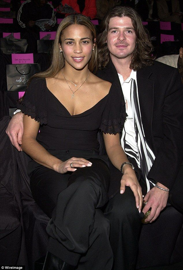My How You Ve Changed Robin Thicke Is Unrecognisable As He Shows Off Unruly Long Locks In Retro Photos With Paula Patton Robin Thicke Paula Patton Love And Hip