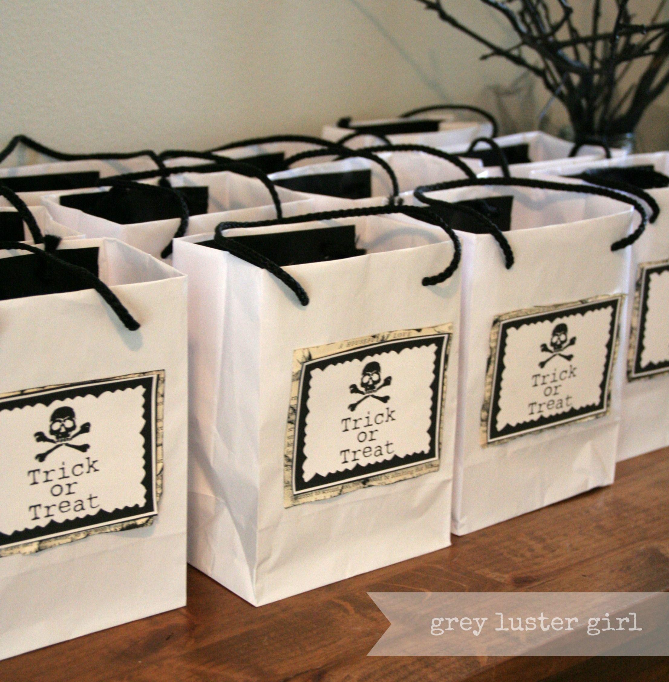 Goody Bag Ideas Halloween