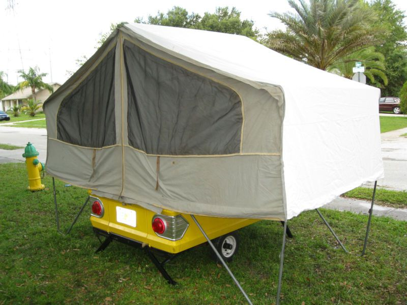 Pop Up Camper Project   Tente roulotte, Camping de luxe