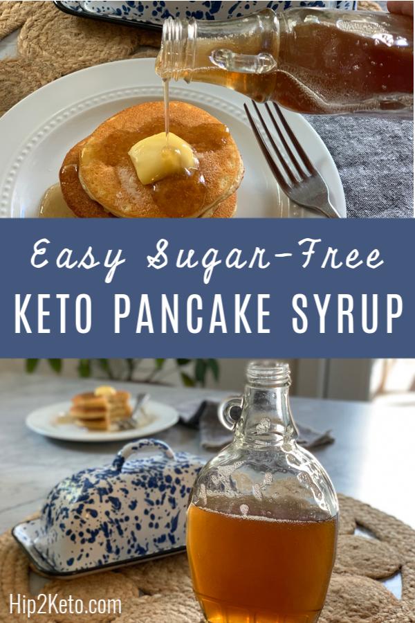 Easy Sugar-Free Keto Maple Syrup