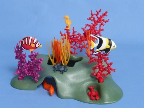 Playmobil-Underwater-Coral-Reef-Tropical-Fish-Crab-more-Scenery-NEW