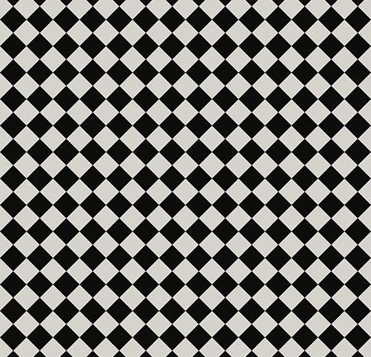 2322900 Damier Noir Et Blanc Sarlon Habitat / Forbo Linoléum