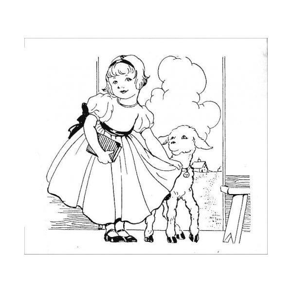 Charming nursery rhyme line drawing! inkspired musings