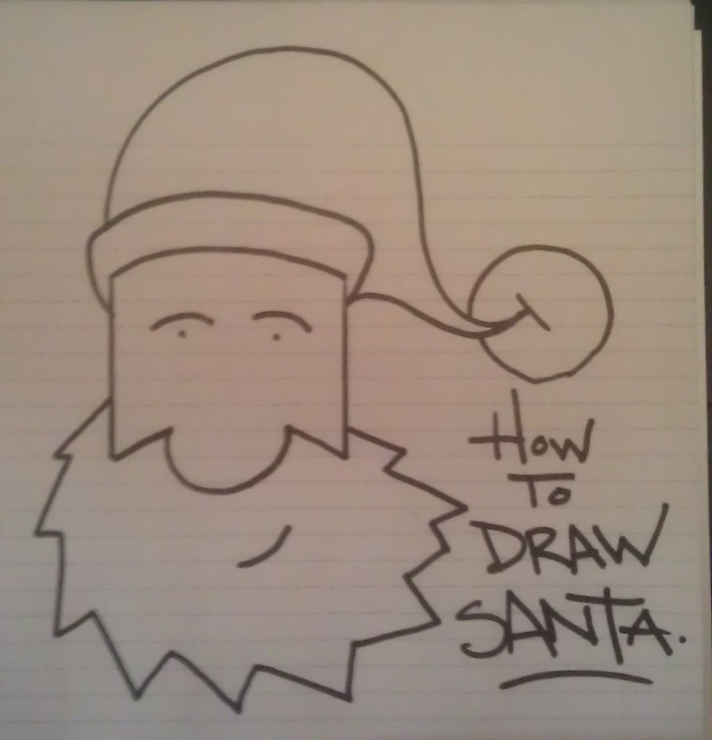 how to draw santa claus in 10 easy steps http matthewshaffer