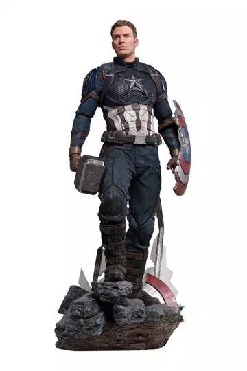 The Movie Marvel/'s The Avengers Captain America 1:4 XM Studios Collectible Model