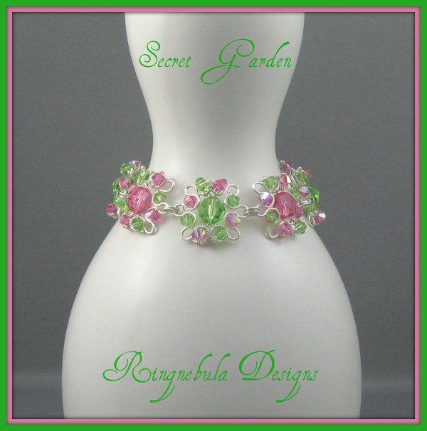 Secret Garden Bracelet by ringnebula.deviantart.com on @DeviantArt