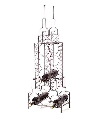 Take a look at this Empire State Building Wine Bottle Holder by AQ on #zulily today!