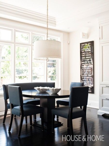 Photo Gallery Dramatic Tiled Interiors Eat In Kitchen Table