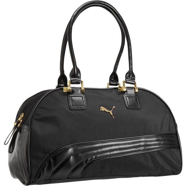 Puma Cartel Handbag (930 MXN) ❤ liked on Polyvore featuring bags, handbags, puma bag, cat purse, puma handbags, puma purse et pocket bag