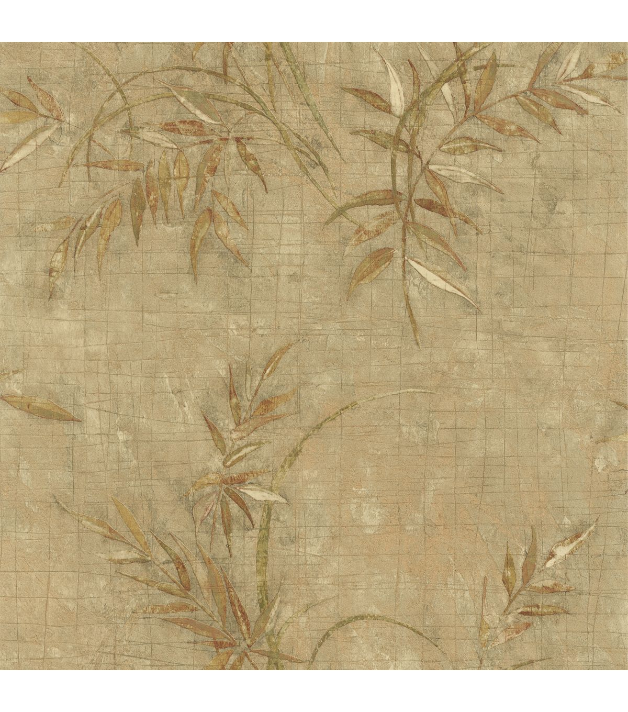 Natalya Sage Leaves Texture Wallpaper - Home Decor & Holiday - Home ...