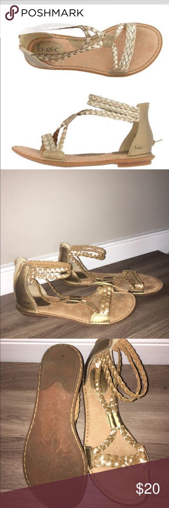 a2d87691f09 b.o.c. gold gladiator sandals B.O.C. Macedonia sandals- gently used and in  great condition! b.o.c. Shoes Sandals