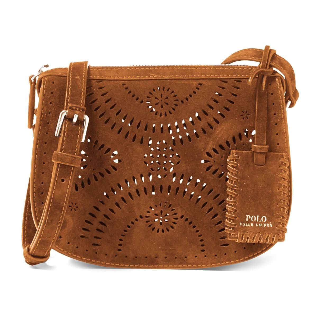 ed1173a2457f Polo Ralph Lauren Mini Suede Cross-Body Bag