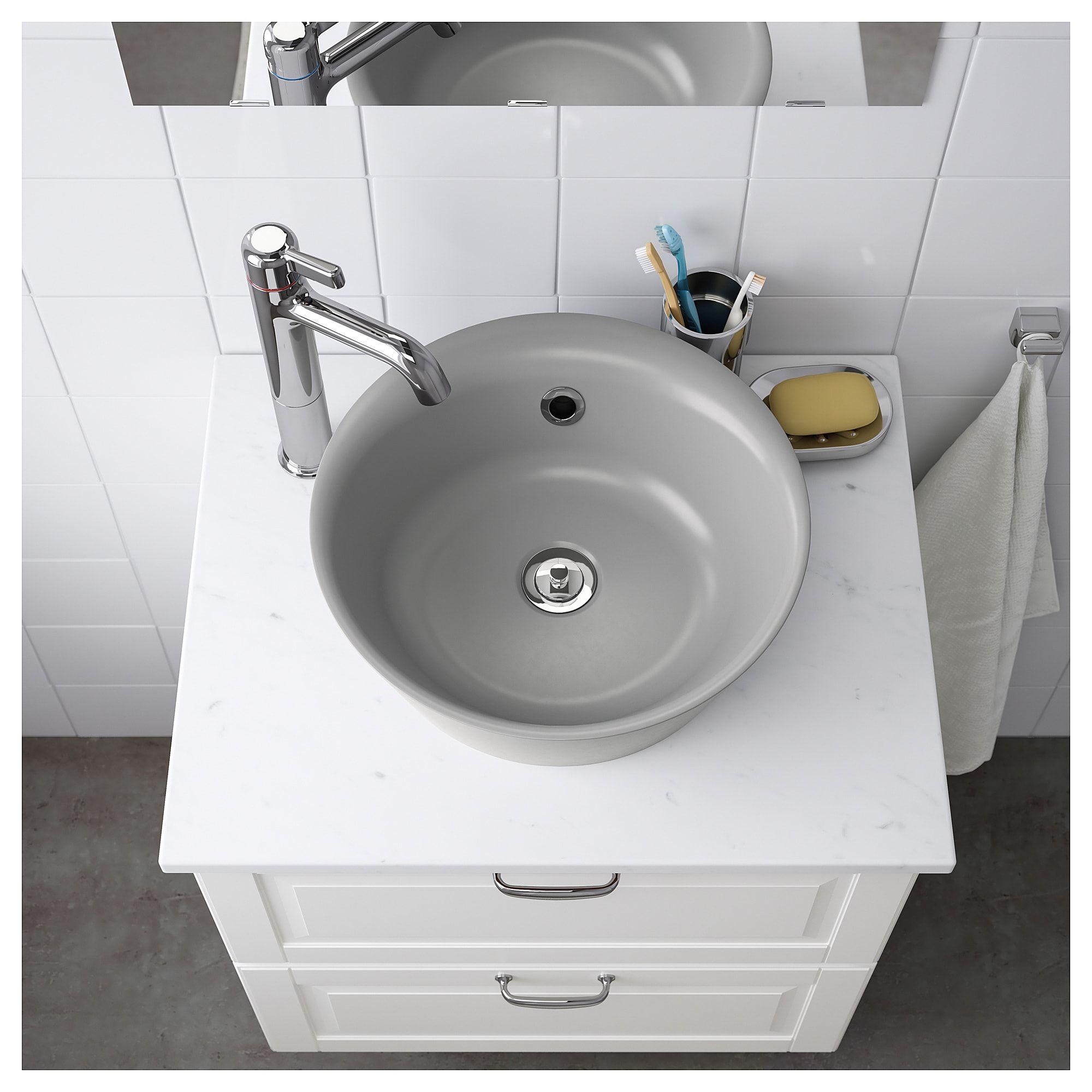 Kattevik Aufsatzwaschbecken Grau Ikea Deutschland