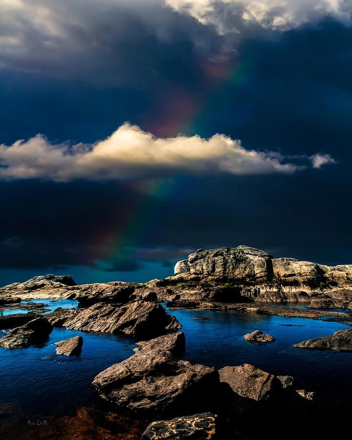 The Rainbow at the Edge of Creation