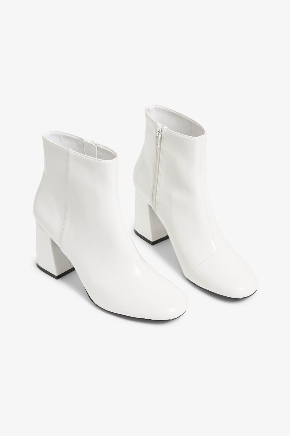 Monki | Boots, White ankle boots, Boots