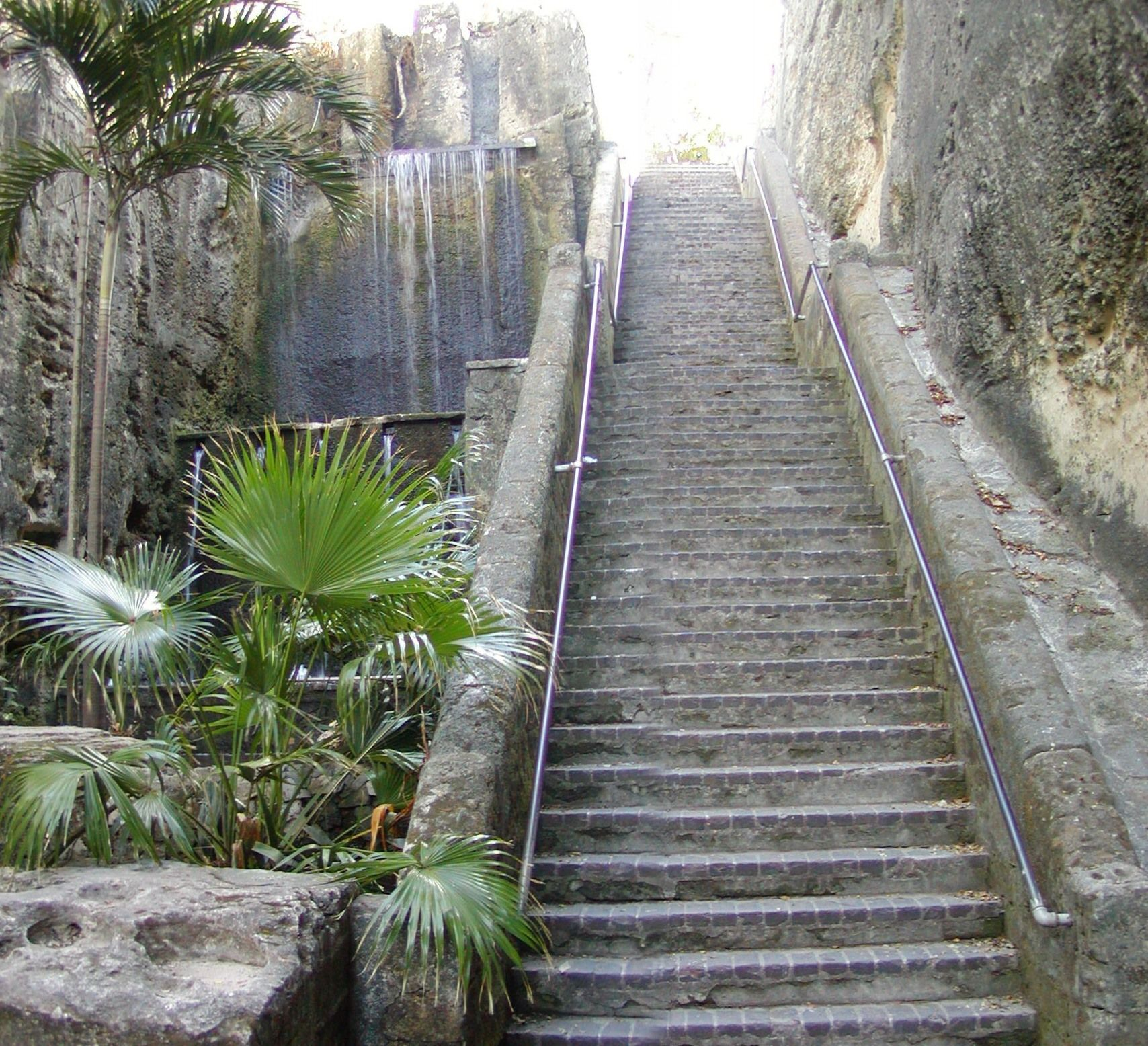 The Queen S Staircase Carved Out Of Sandstone In 1793 To Provide