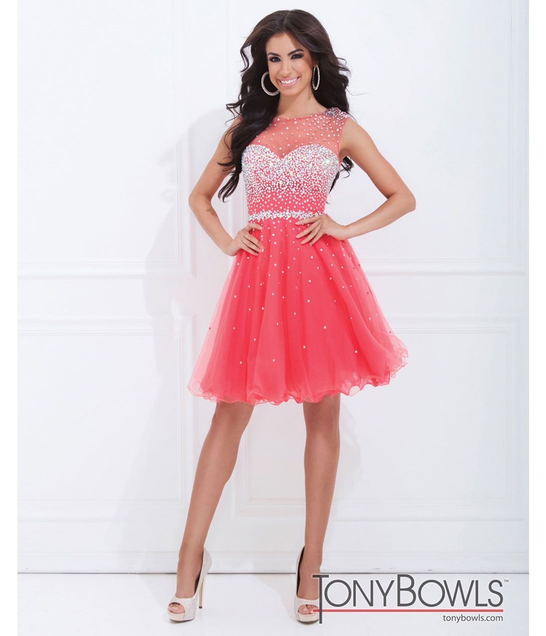 Tony bowls, Short prom dresses and Short prom on Pinterest