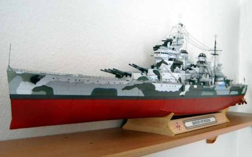 125 Royal Navy Prince Of Wales King George V Class Battleship Paper Model