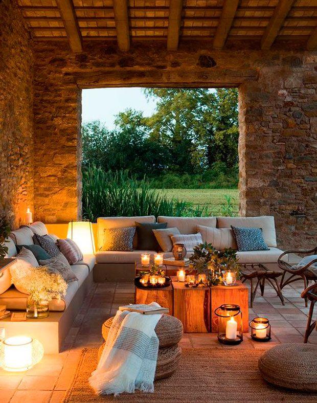 Ideas low cost para decorar una terraza para una fiesta | Pinterest ...