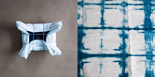 4 Ways to Shibori Dye with Design Sponge #tutorial #dyeing #howto