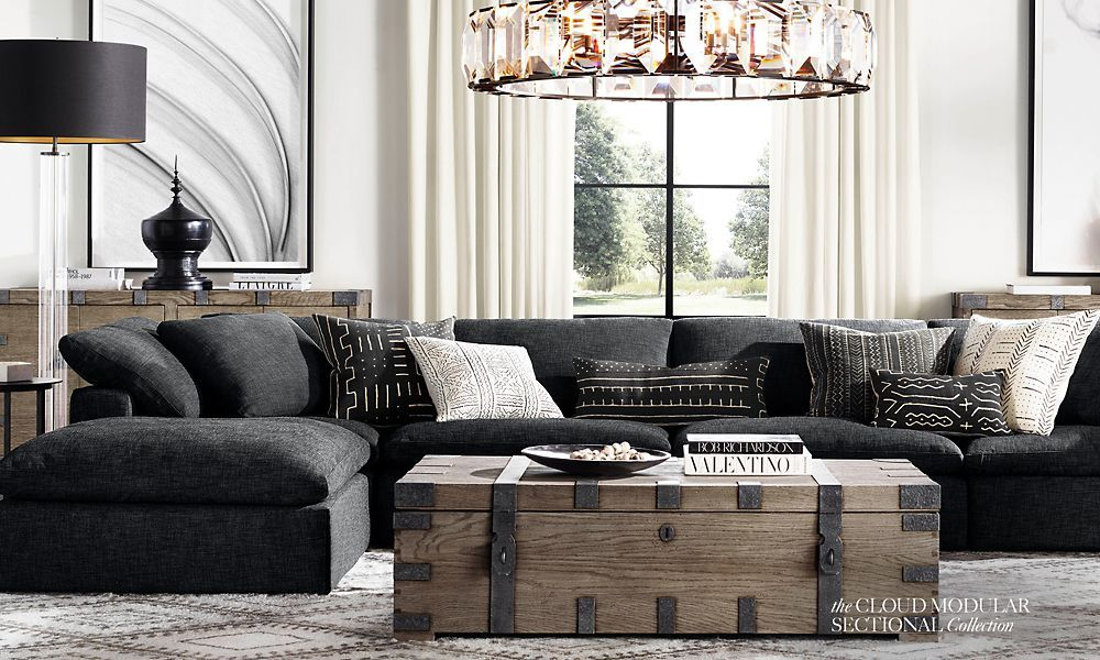 The Cloud Collection Restoration Hardware Living Room