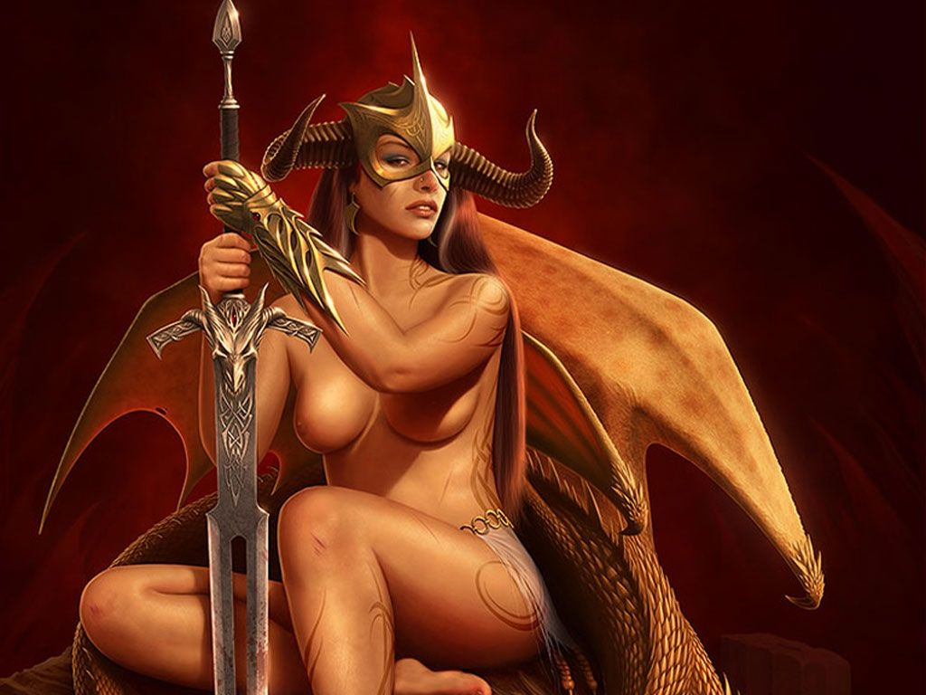 Fantasy naked female warrior fantasy pics