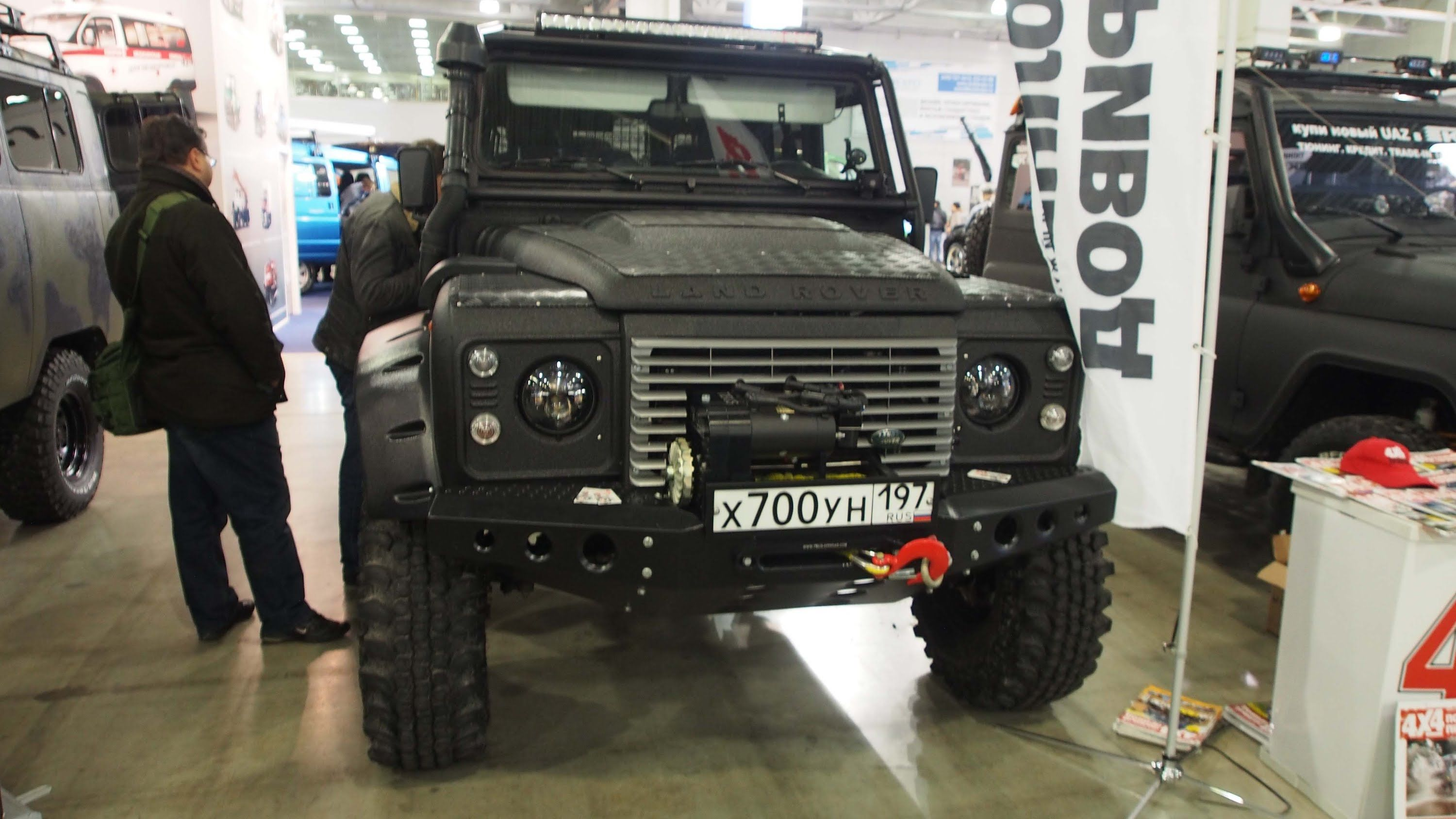 land rover defender 4x4 offroad tuning 2014 pinterest land rover defender land. Black Bedroom Furniture Sets. Home Design Ideas