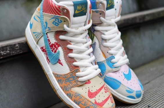 newest collection 8bed9 5ddbe Look Out For The Thomas Campbell x Nike SB Dunk High Premium
