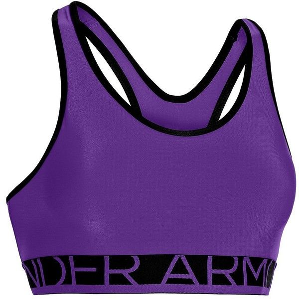 ec4b8600652f2 Women s Under Armour Still Gotta Have It Bra Purple Small ( 25) ❤ liked on Polyvore  featuring activewear