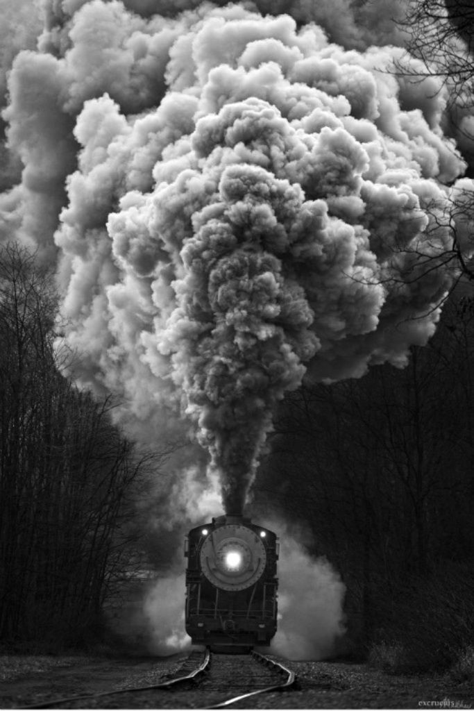 Photographing Vintage Trains #photoblackwhite