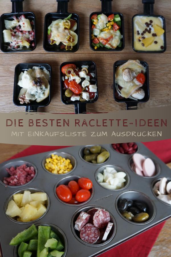 Raclette Ideen #racletteideen