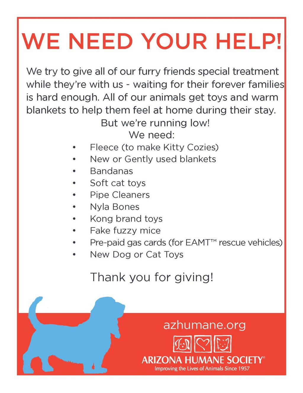 The Arizona Humane Society Needs Your Help Pinspiration Humane Society Animal Help Animal Rescue