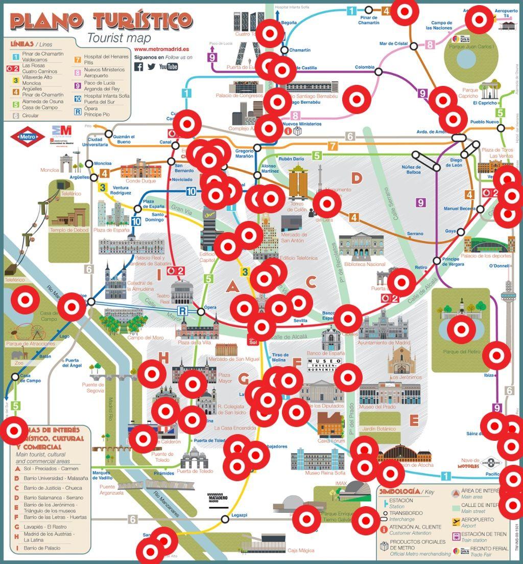 Madrid en canciones thinglink madrid map language