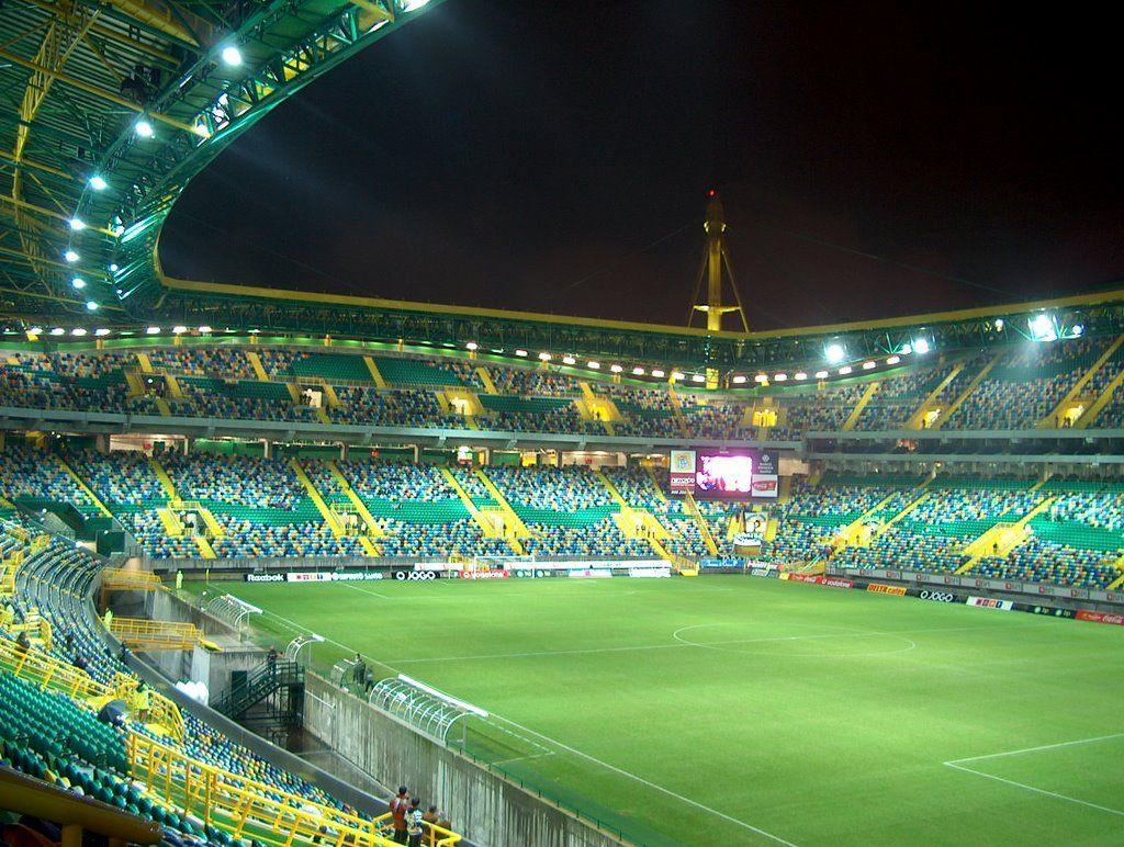 Laeacco Uk Football Soccer Field Stadium Scenic: Uefa Champions League 2014-2015
