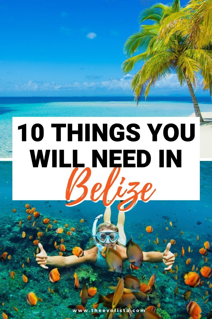 Packing List for Belize: 10 Things You Can't Forget