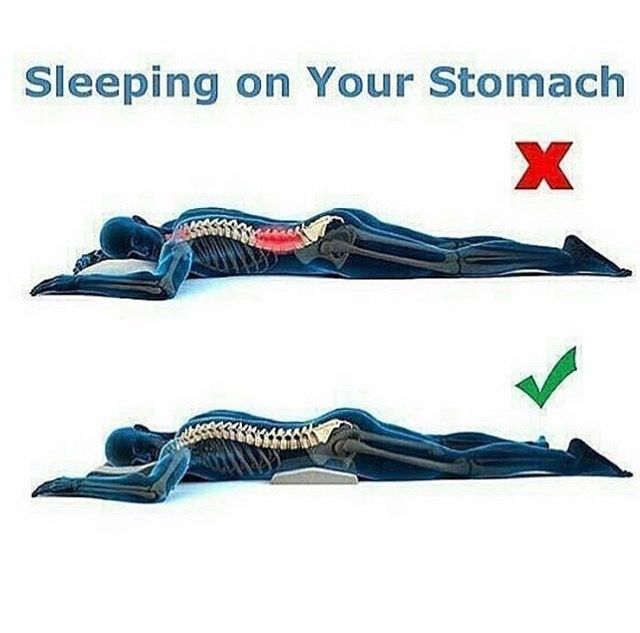 Sleeping On Your Stomach Bodybuilding Workouts Spine Health Massage Therapy